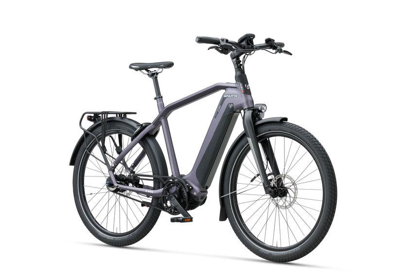 Vooraanzicht van de Sparta e-bike D-Burst M8Tb Amethyst Matte Gents