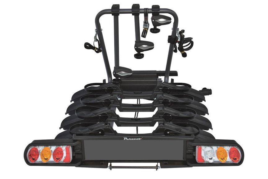 Picture of a bike car rack