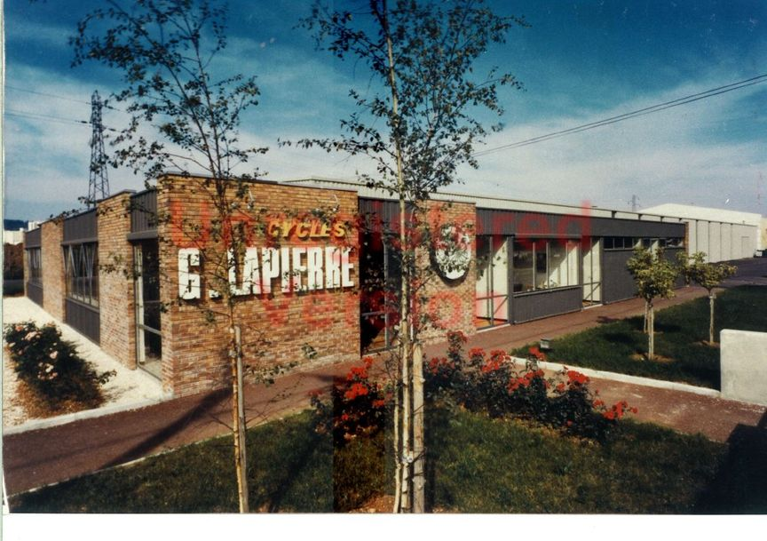 History - The first Lapierre factory in 1972