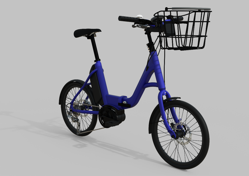 Picture of an Aphrodite ebike