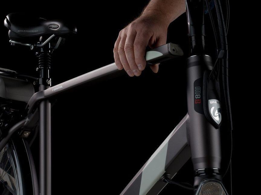 Uitneembare bovenbuis Sparta e-bike