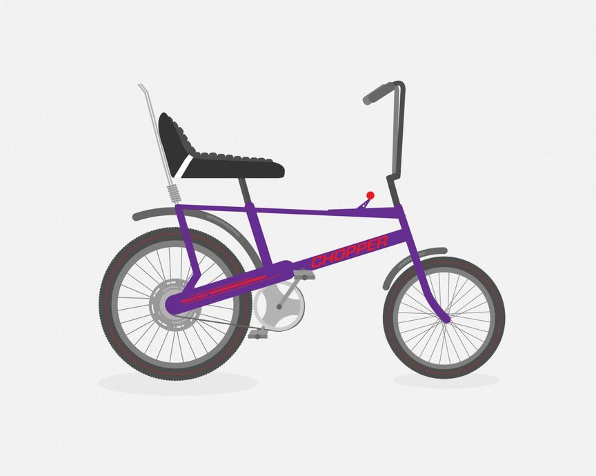 Image of a Raleigh Chopper