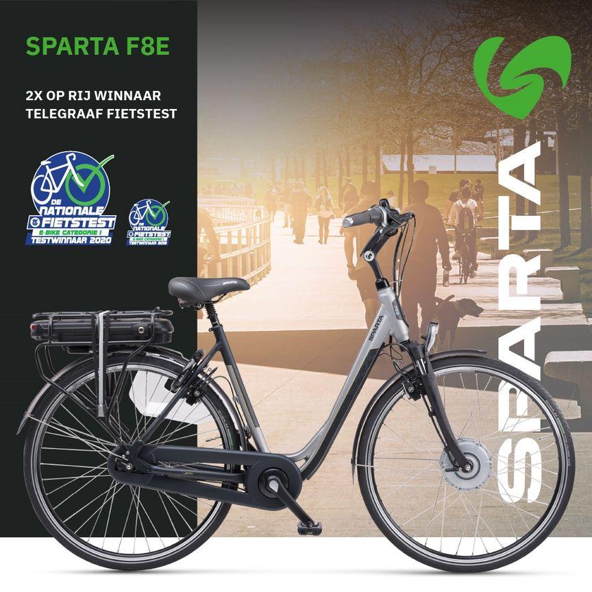 Sparta F8e nationale e-biketest 2020