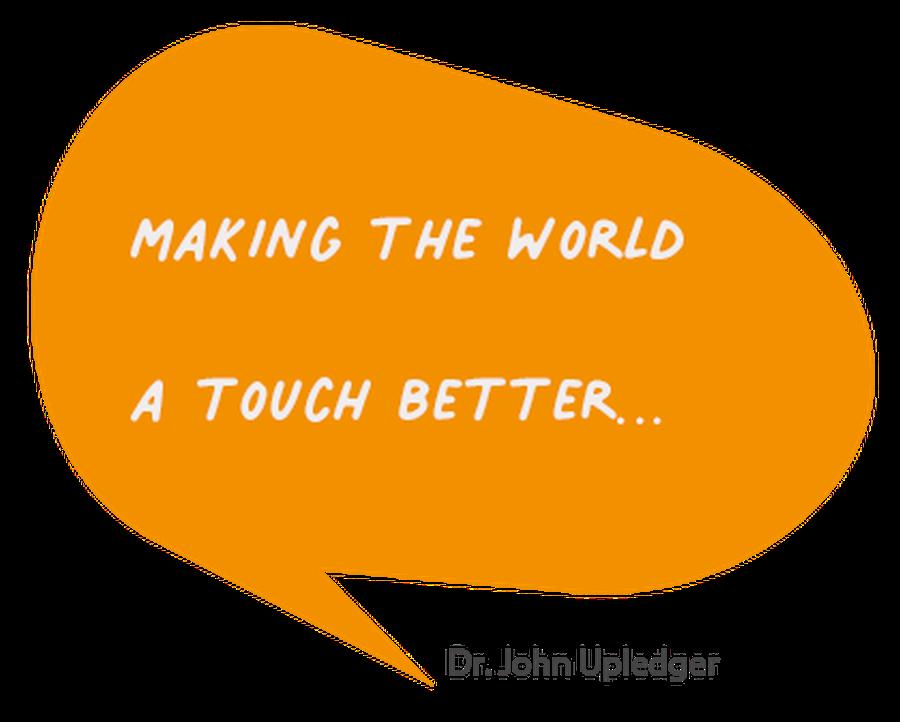 Making the world a touch better - Dr. John Upledger