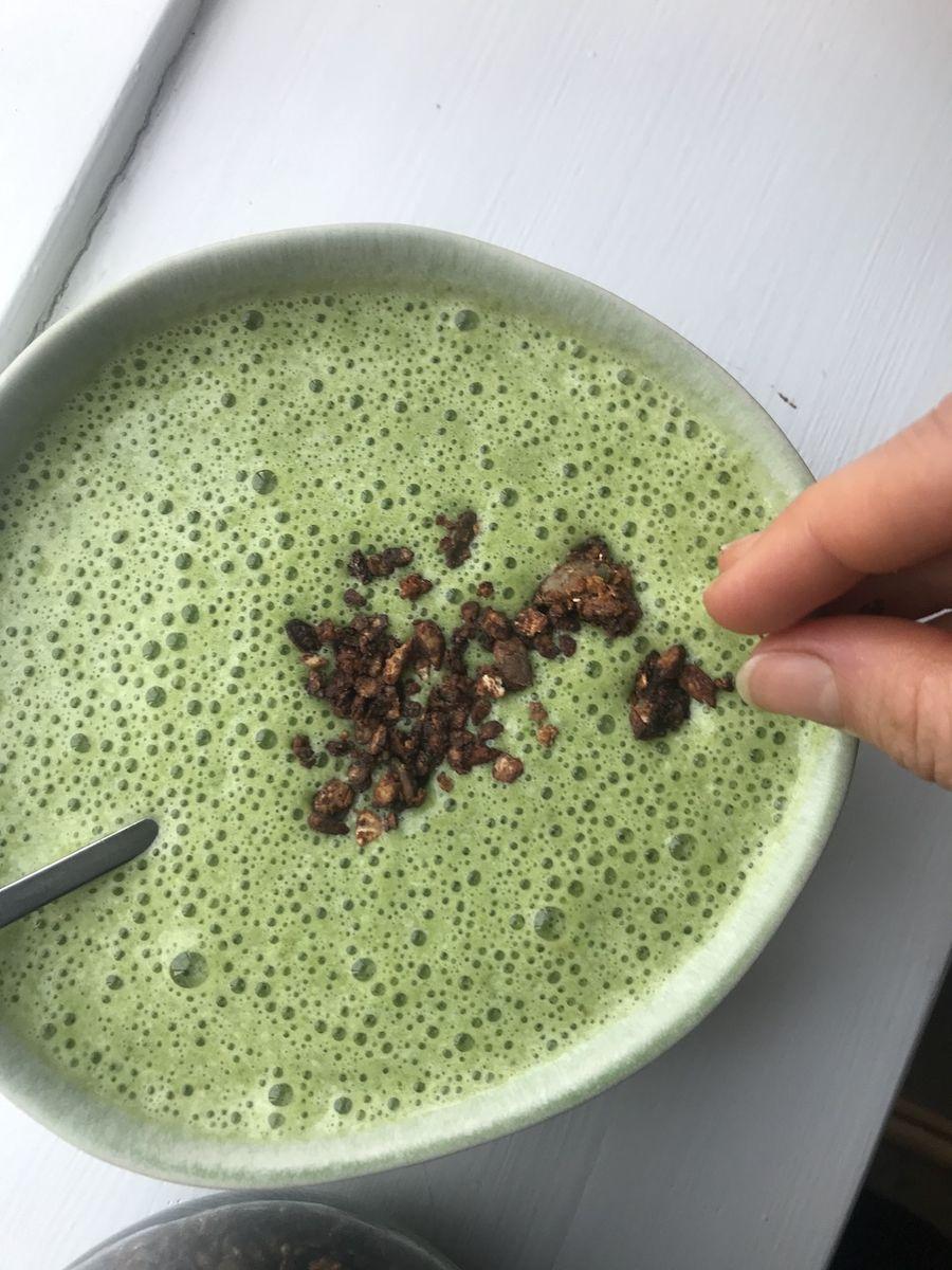 Chokolade granola - Opskrift