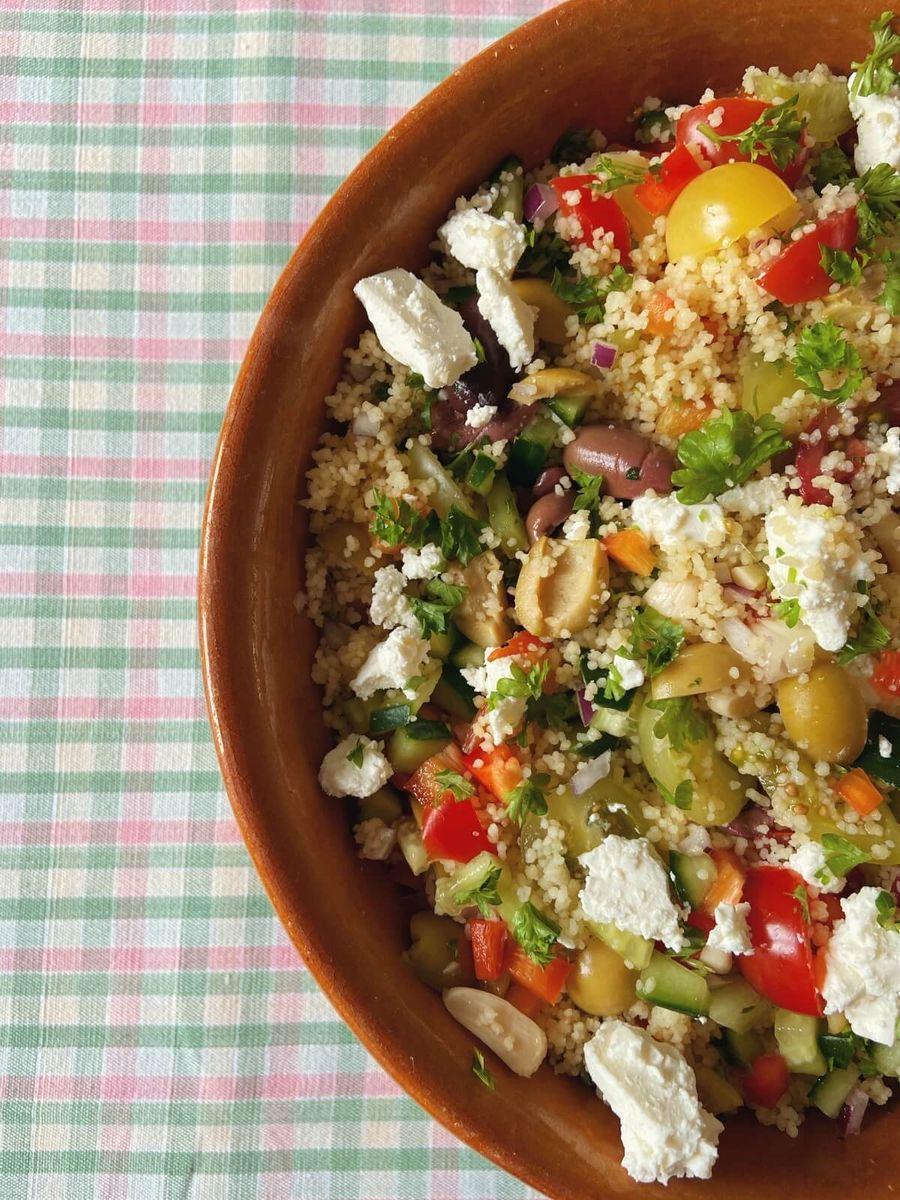 Opskrift - couscous salat - israelsk