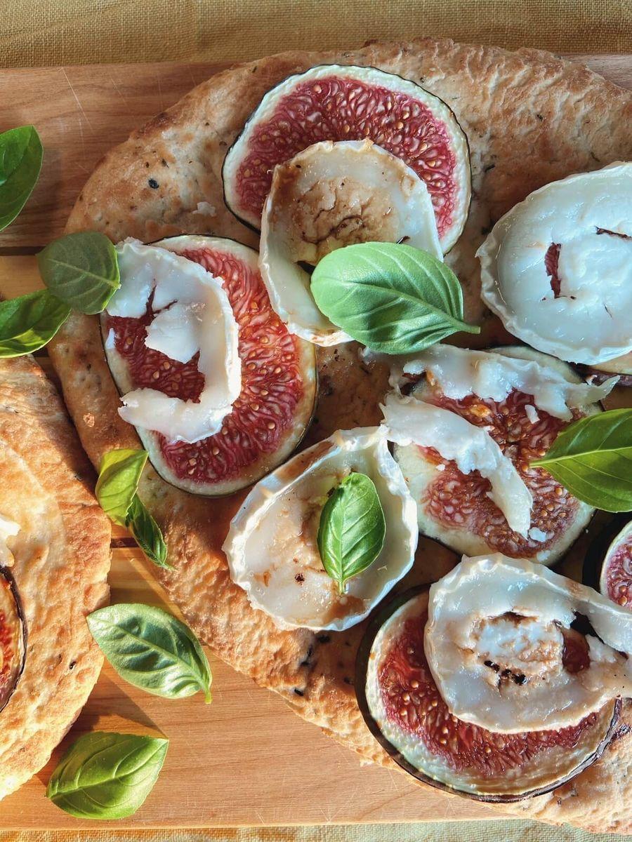 Opskrift - Naanbrød med figen