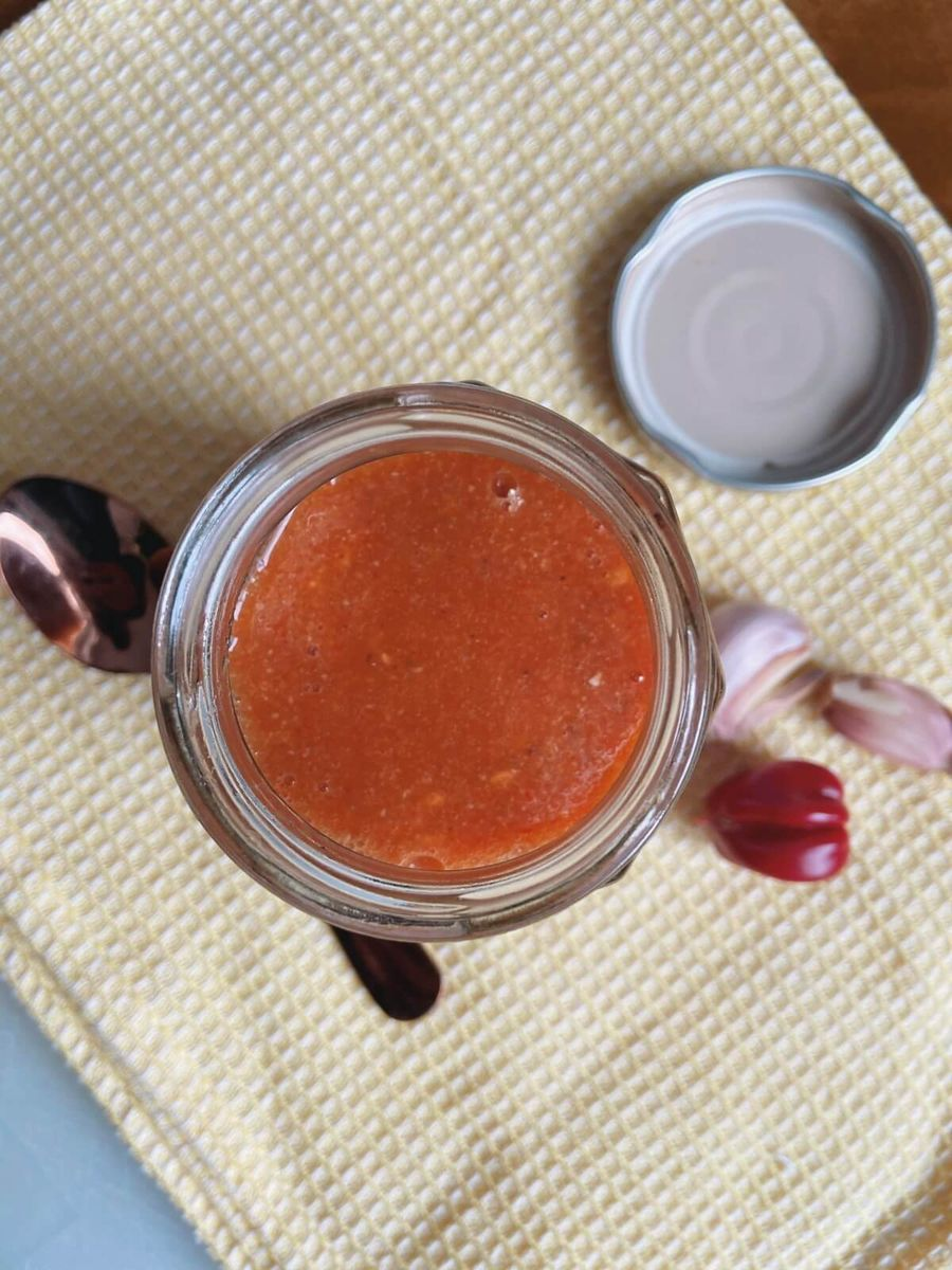 Opskrift - Chilisauce med habanero