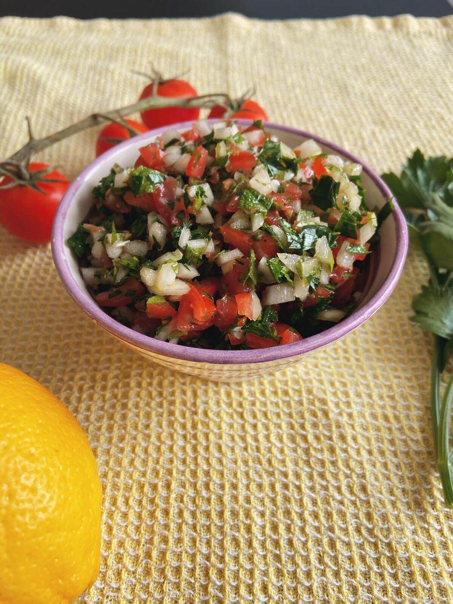 Vegetar - Libanesisk Tabbouleh uden bulgur
