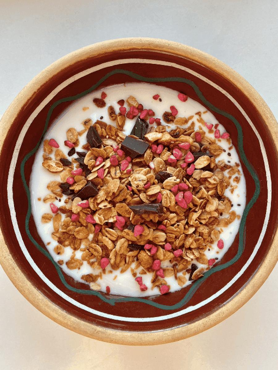 Granola med koks
