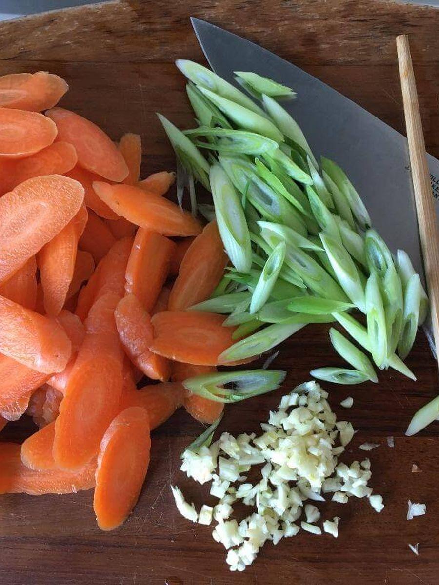 ingredienser til wok ret