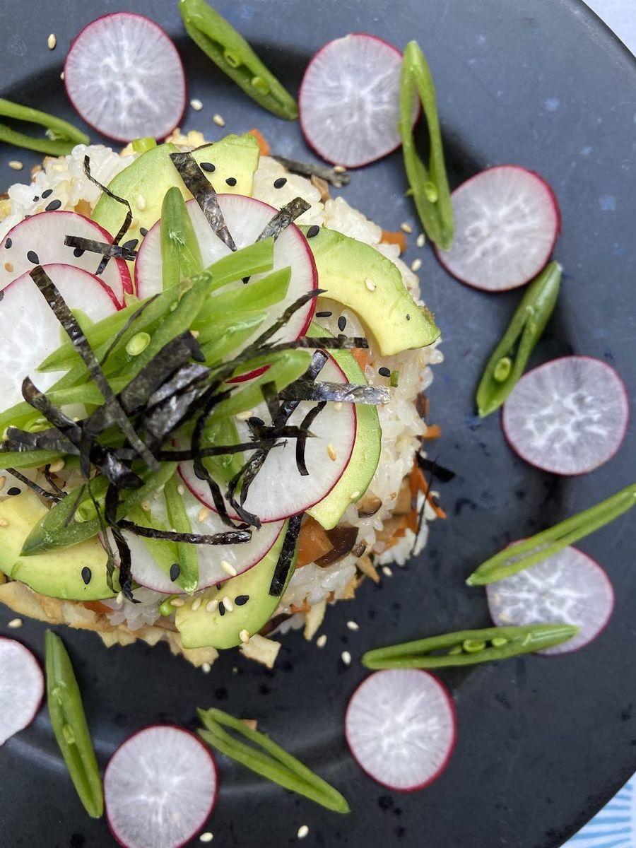 Sushi kage - vegetar