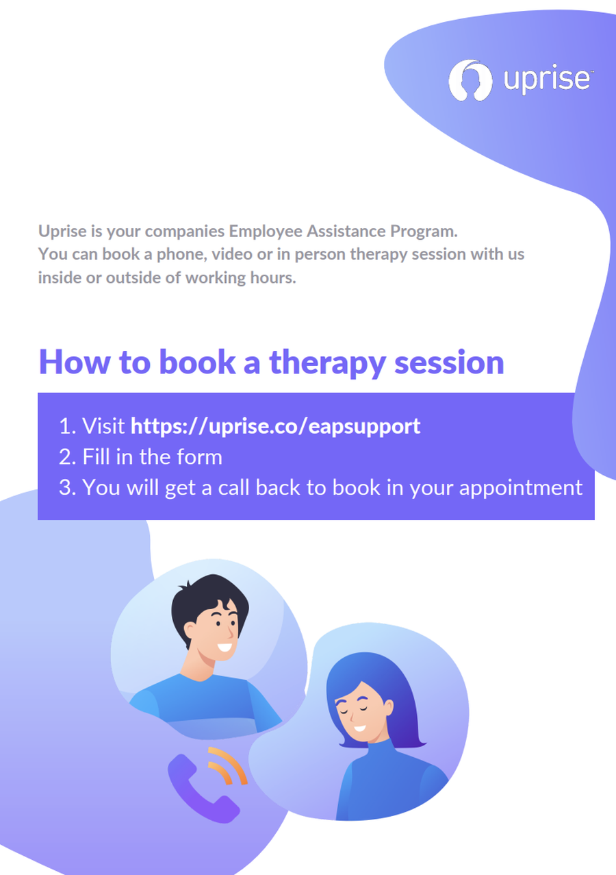 How to book therapy
