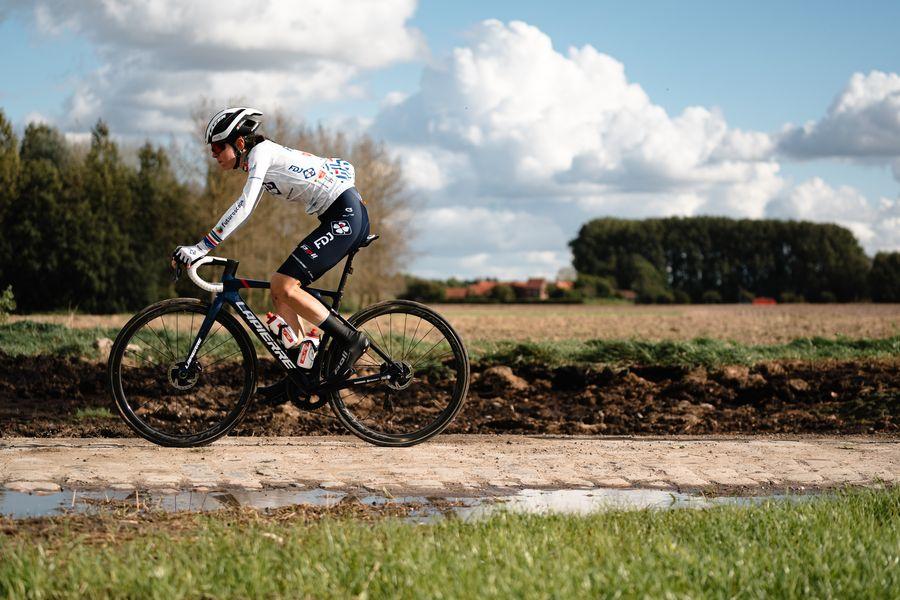 Paris-Roubaix Femmes - Marta Cavalli - FDJ Nouvelle Aquitaine Futuroscope