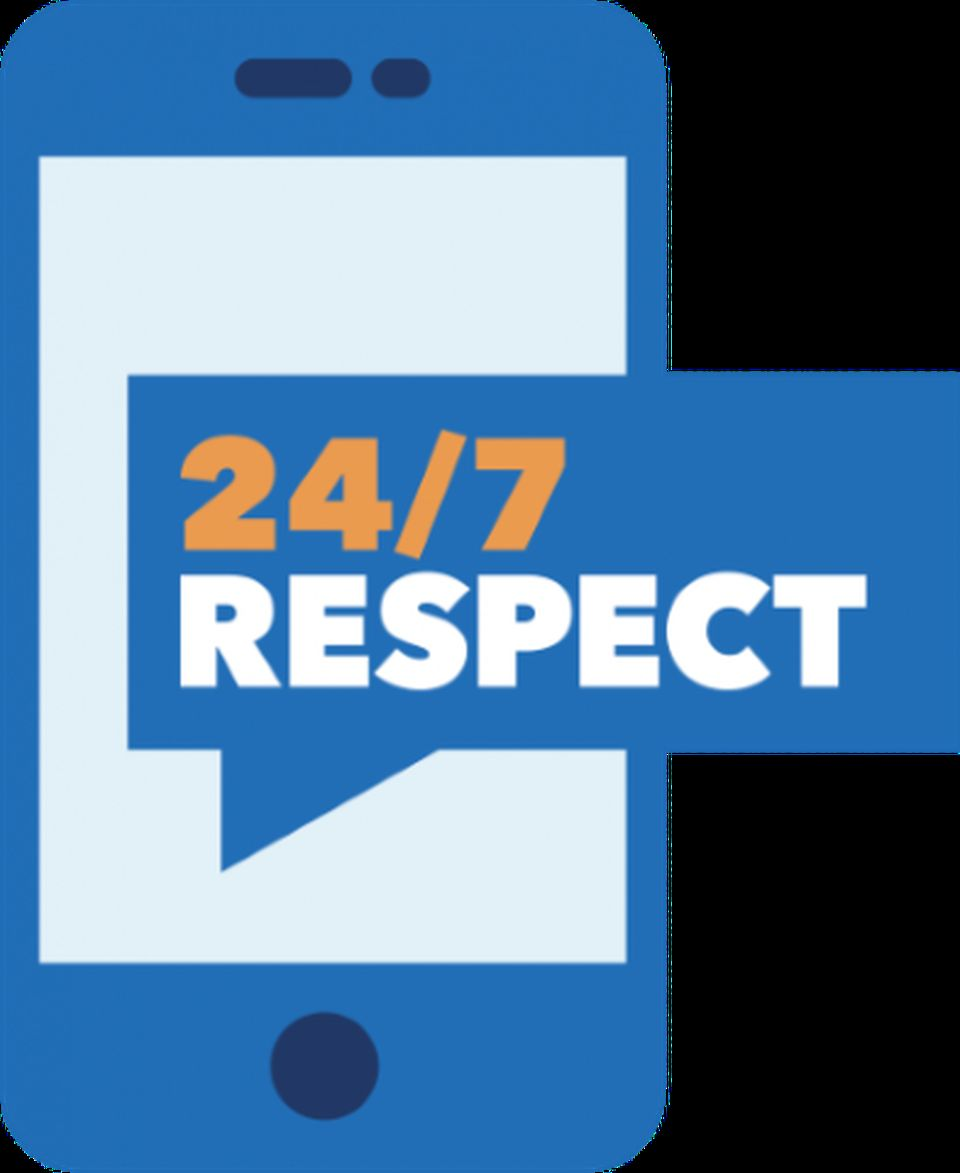 The BPS 24/7 Respect logo in blue, white, and orange.