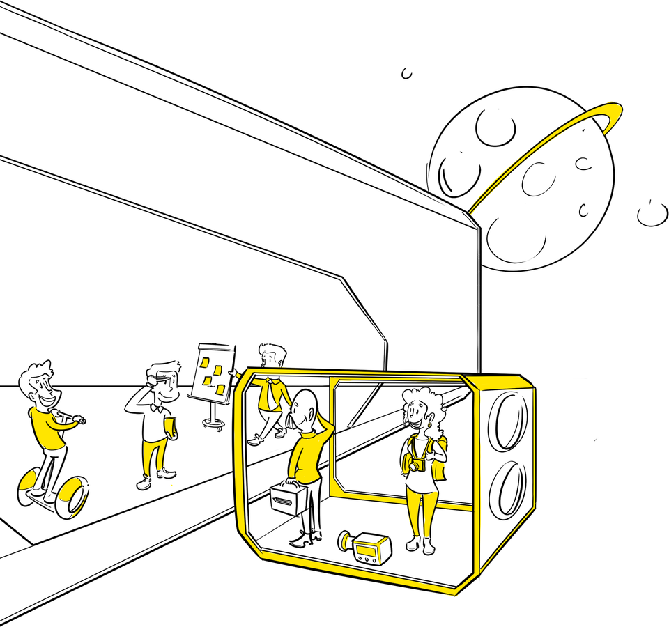 Visuele Verbinders Den Haag samenwerking Amsterdam praatplaat design thinking team visualiseren strategie proces optimalisatie