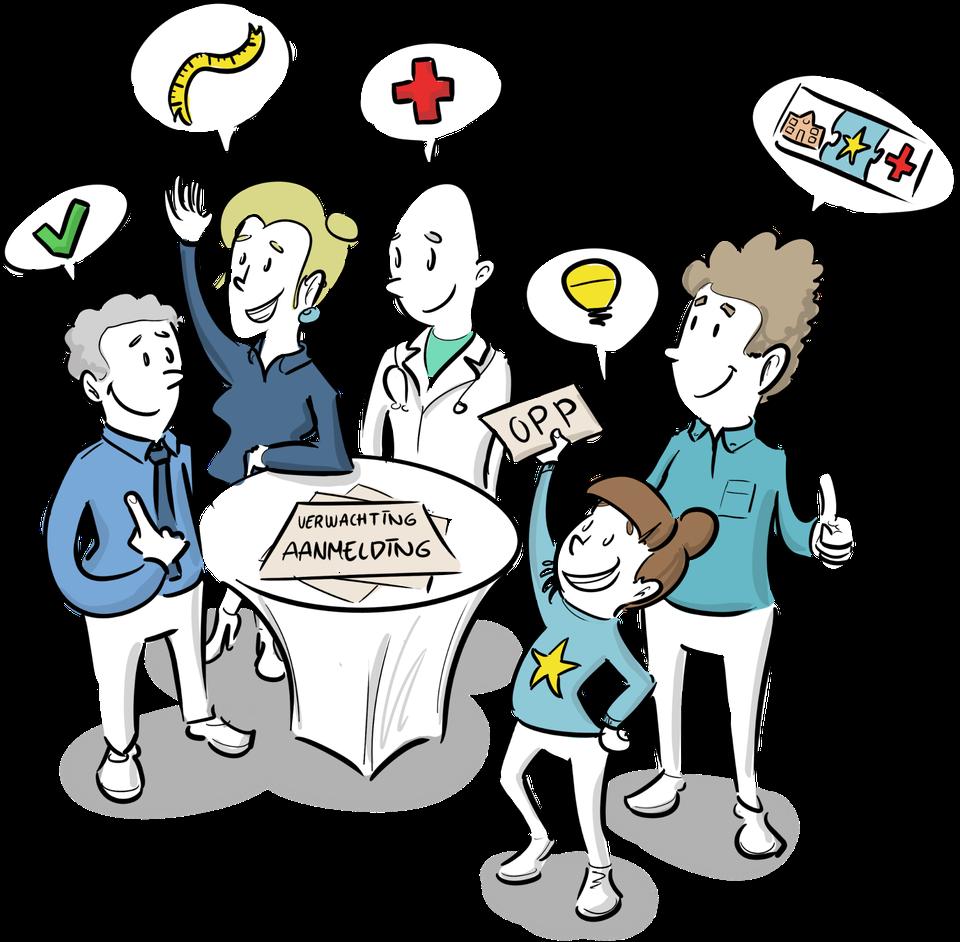 toekomstvisie passend onderwijs gelijkheid verantwoordelijkheid scholen tekening toekomstbeeld visie strategie