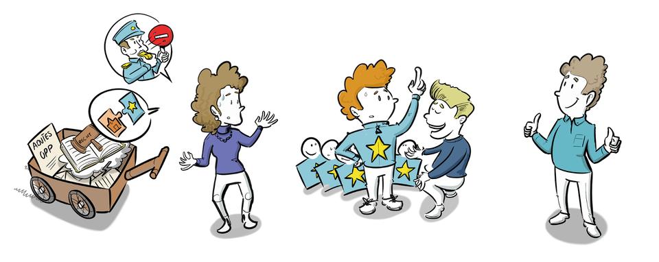 Positie leerlingen en ouders passend onderwijs ministerie visueel evalueren communicatie middelen strategische communicatie