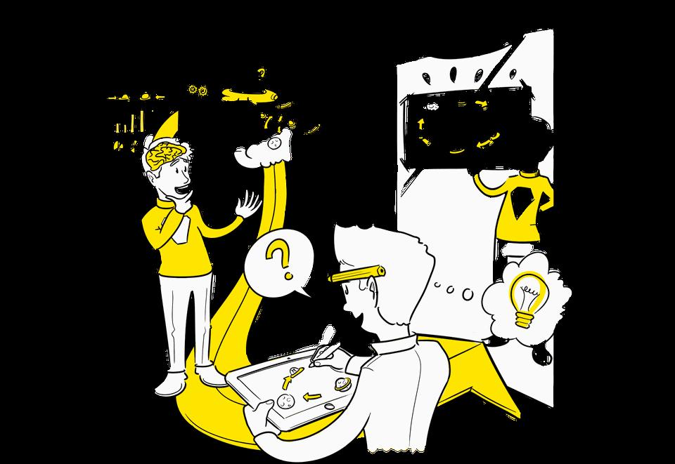 Visuele Verbinders zakelijk tekenen proces tekening maken proces visualiseren wat is een visie visuele communicatie voorbeeld
