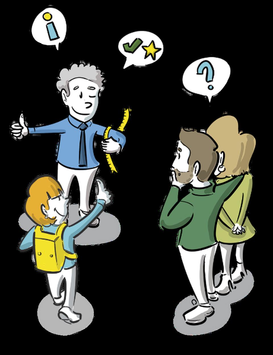 visualisatie schoolleider directeur ouders zorgplicht kind visueel maken visie