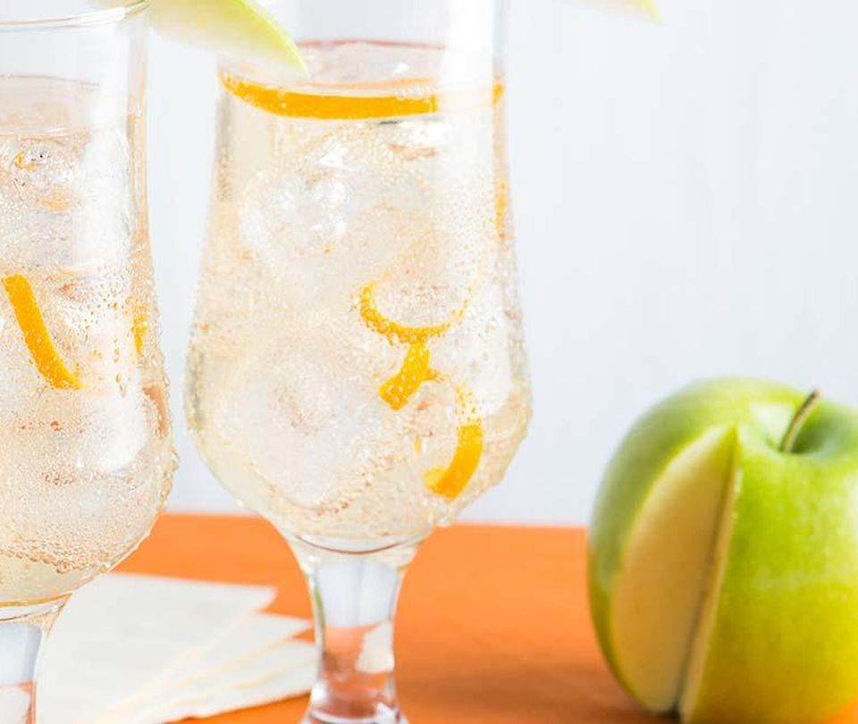Photo of Sparkling White Grape and Apple Cider