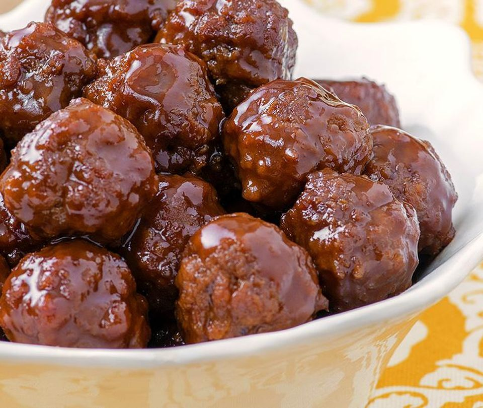 Photo of Welch's Grape Jelly Meatballs