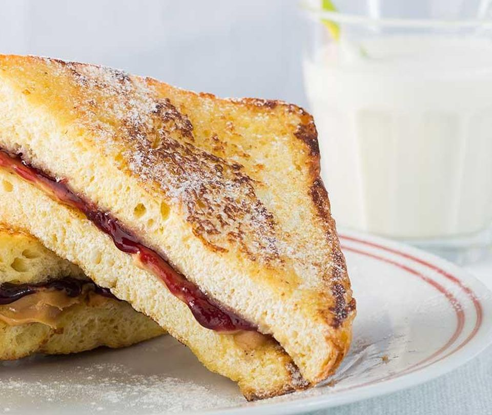 Photo of Peanut Butter and Jelly Stuffed French Toast