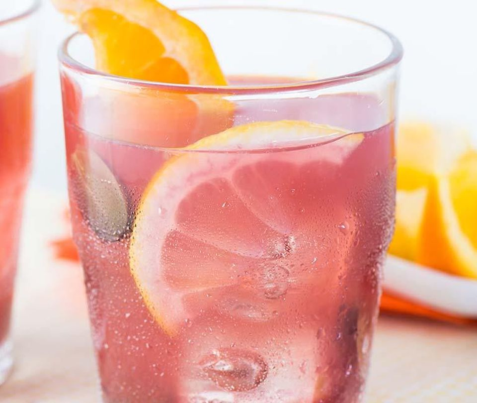 Photo of Sparkling Red Grape Punch