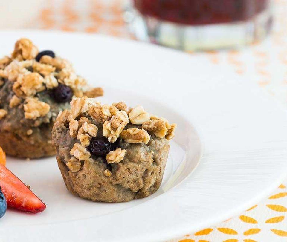 Photo of Grape Berry Crunch Muffins