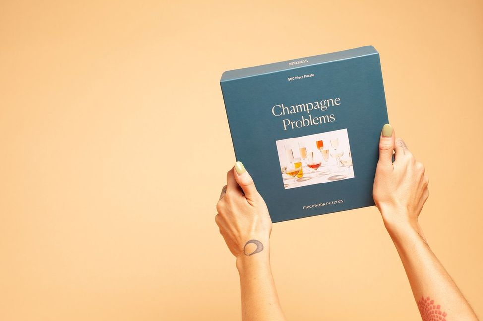 Piecework – Champagne Problems Puzzle