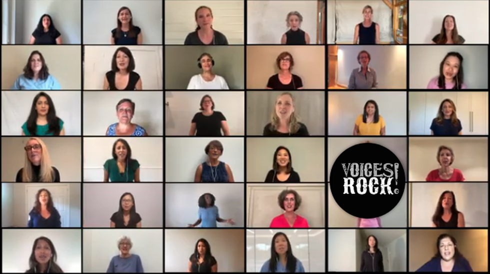 Photo: Voices Rock Canada (YouTube)