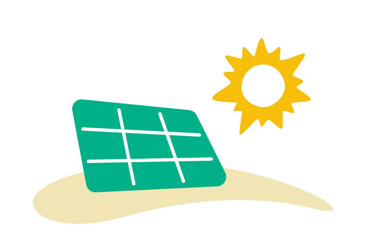 Solar farm icon