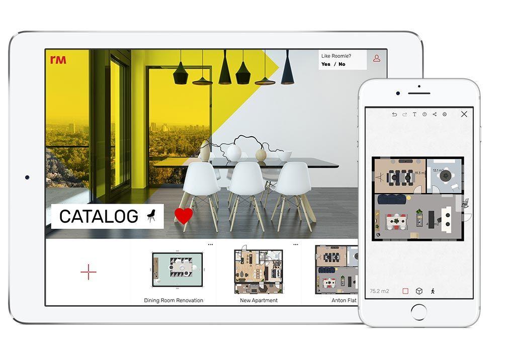 free and simple online 3d floorplanner. Black Bedroom Furniture Sets. Home Design Ideas