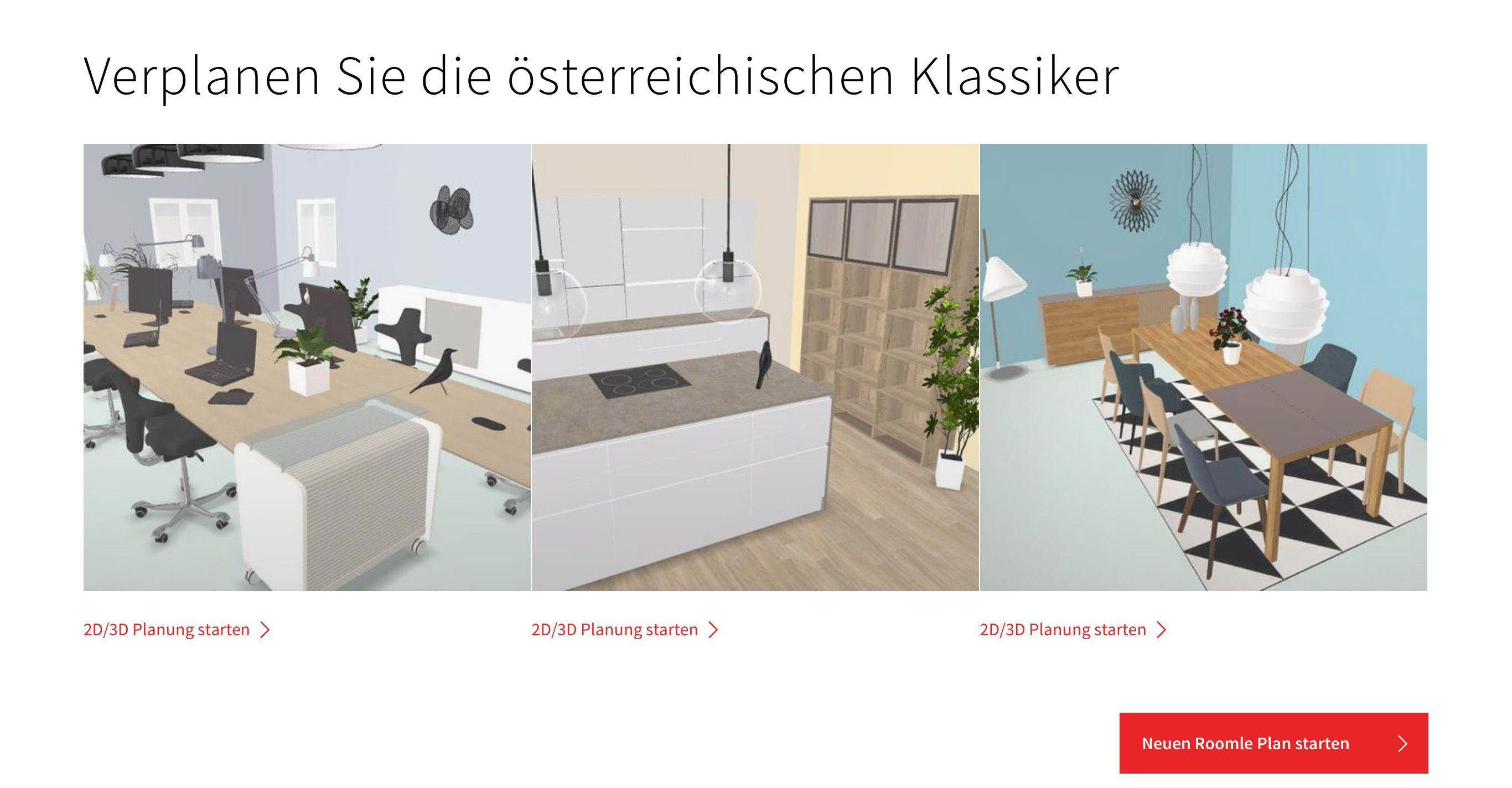 neu einrichten im austrian style roomle. Black Bedroom Furniture Sets. Home Design Ideas