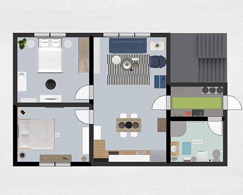 plan 3d en ligne affordable plan de cuisine en d with plan cuisine d en ligne with plan 3d en. Black Bedroom Furniture Sets. Home Design Ideas