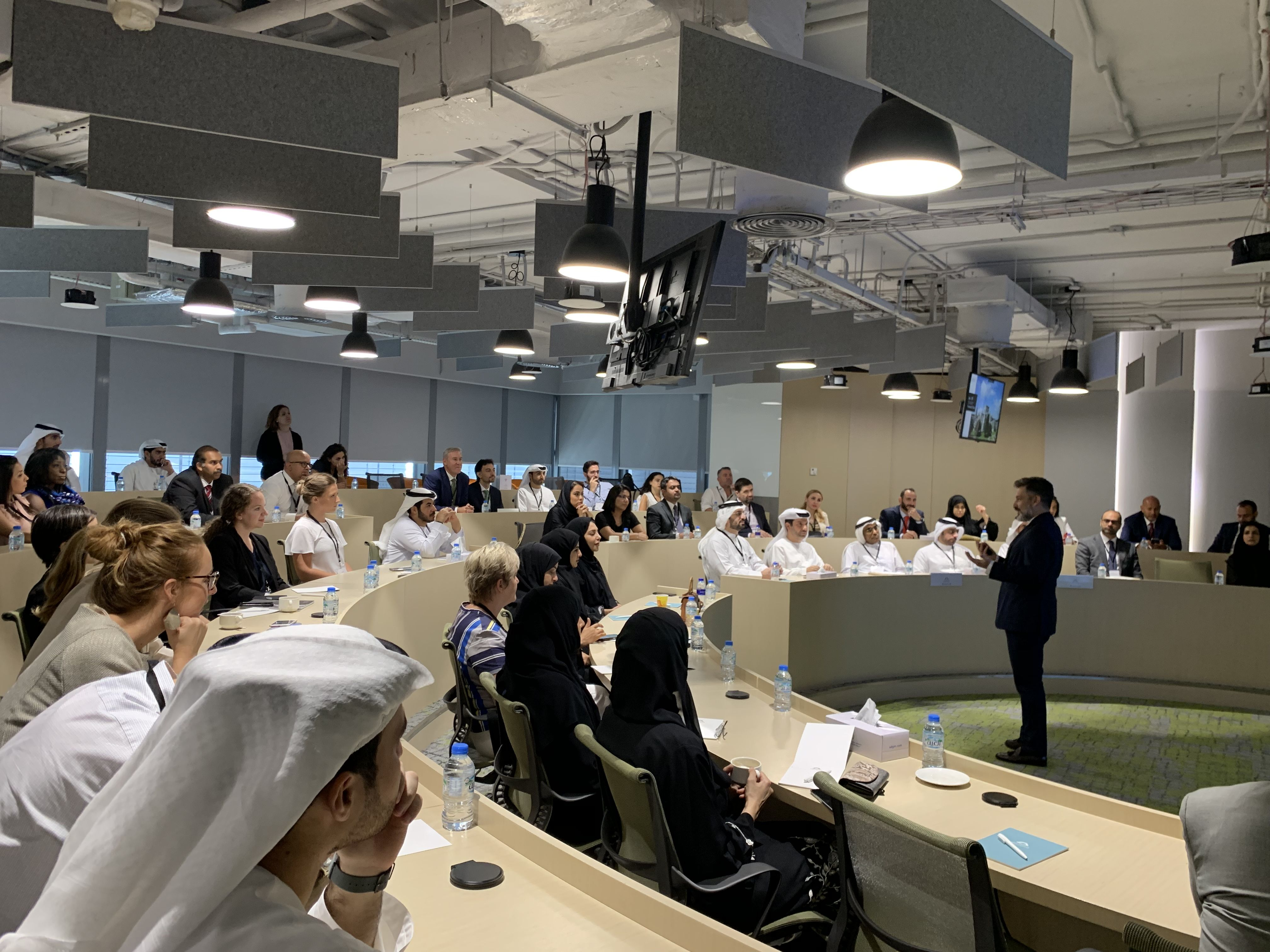 Full conference room in Abu Dhabi