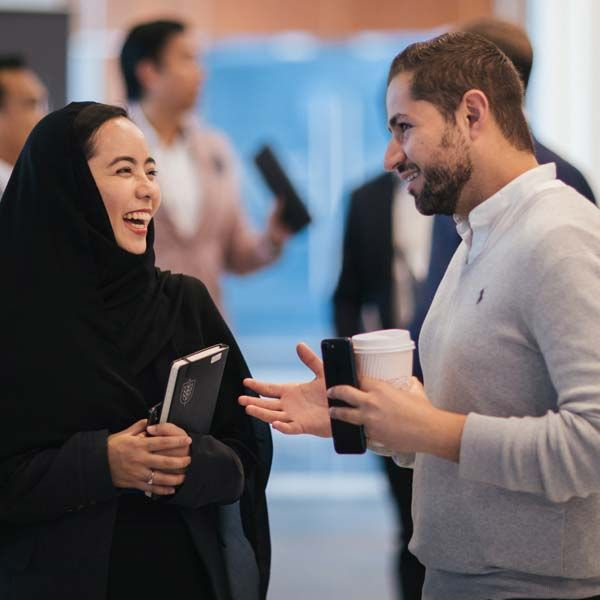 Dubai Business School Students Networking | Hult