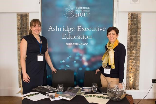 ashridge representatives promoting their stand