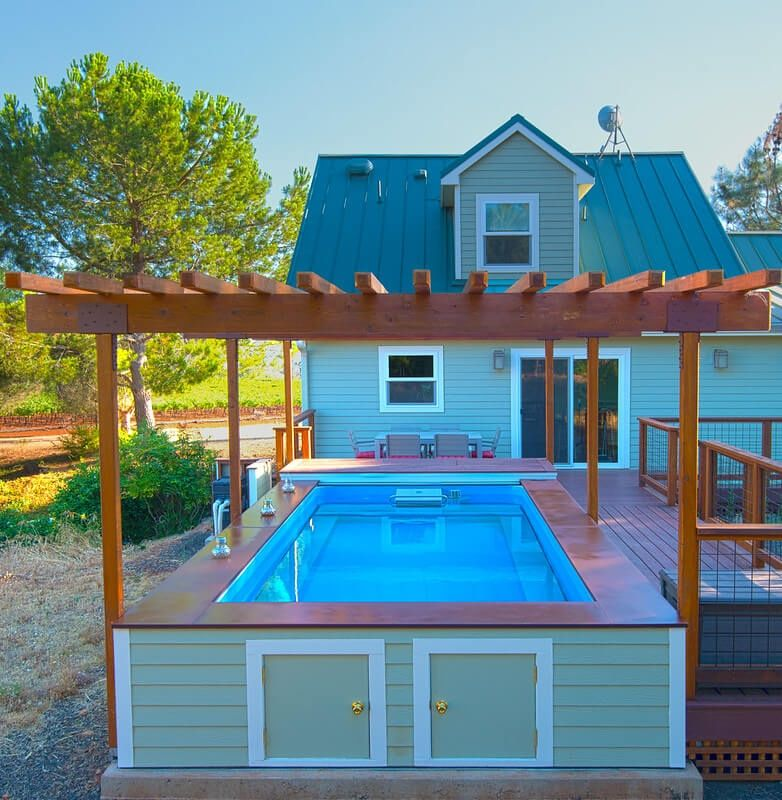Pool Deck Ideas Above Ground Pool Decks Pool Deck