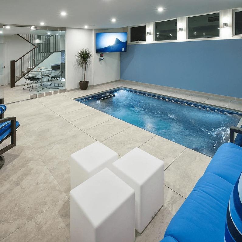 Basement Pools Indoor Basement Pool Basement Ideas