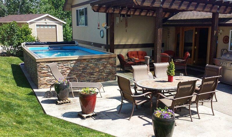 Backyard Pool Backyard Pool Ideas Small Backyard Pool