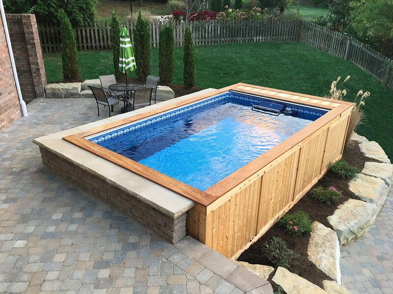 Fiberglass Pool Ideas Fiberglass Pool Cost