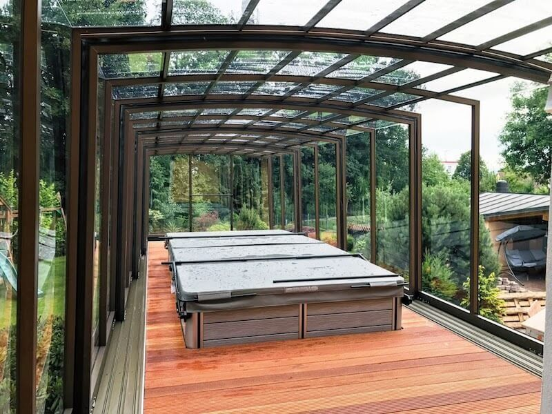 Pool Enclosures Retractable Pool Enclosures