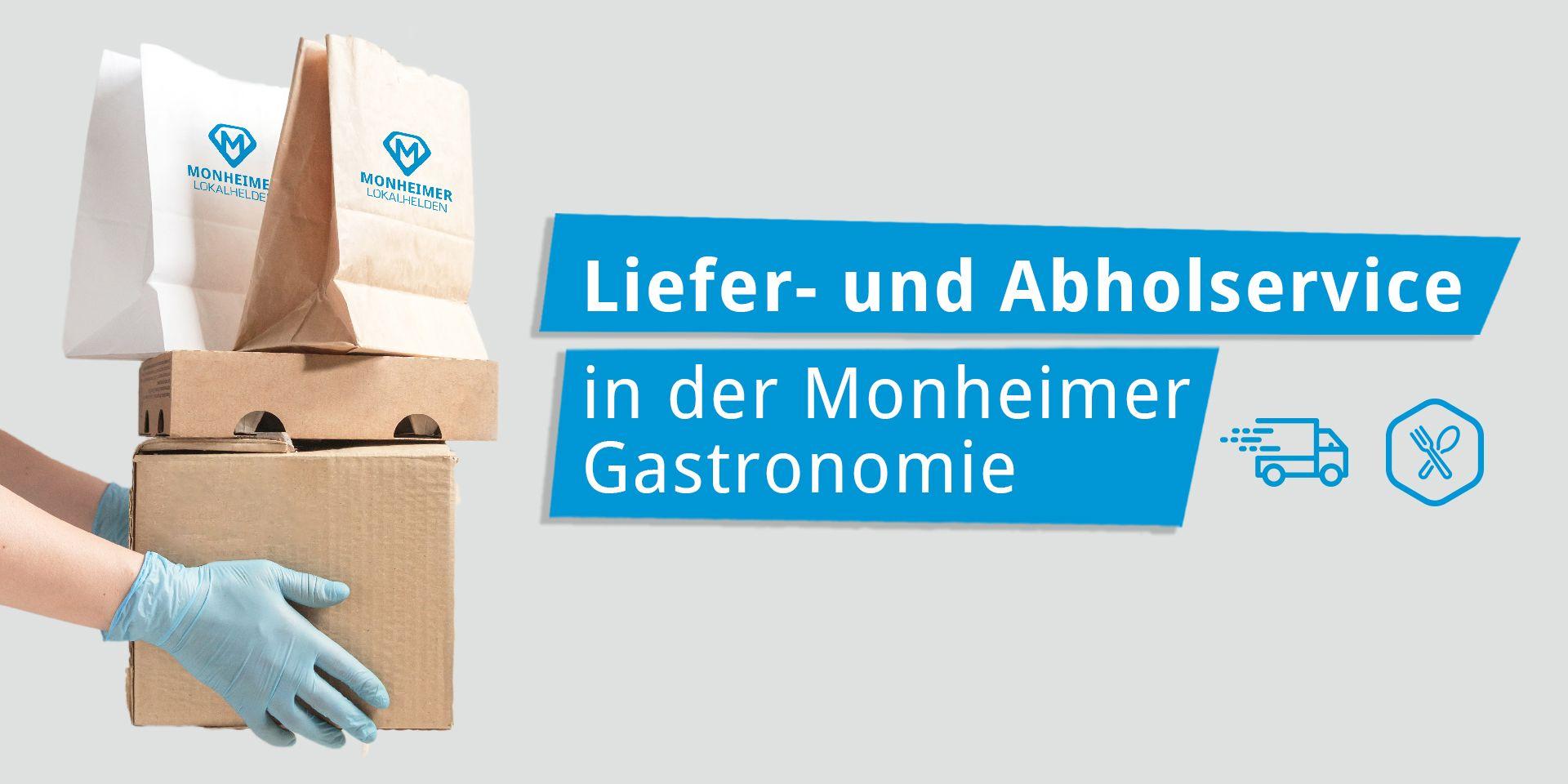 Liefer- und Abholservice der Monheimer Gastronomen