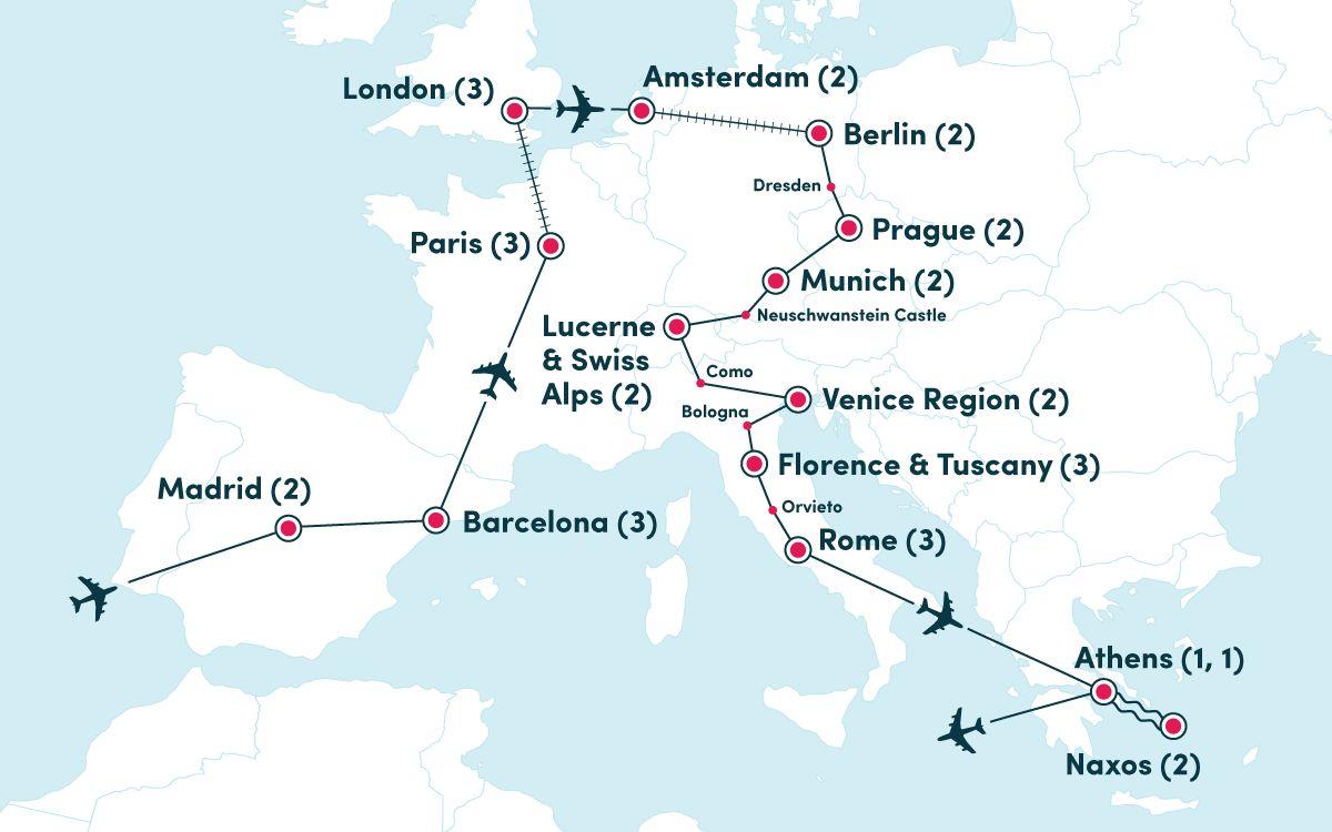 Ultimate Europe | EF Ultimate Break on