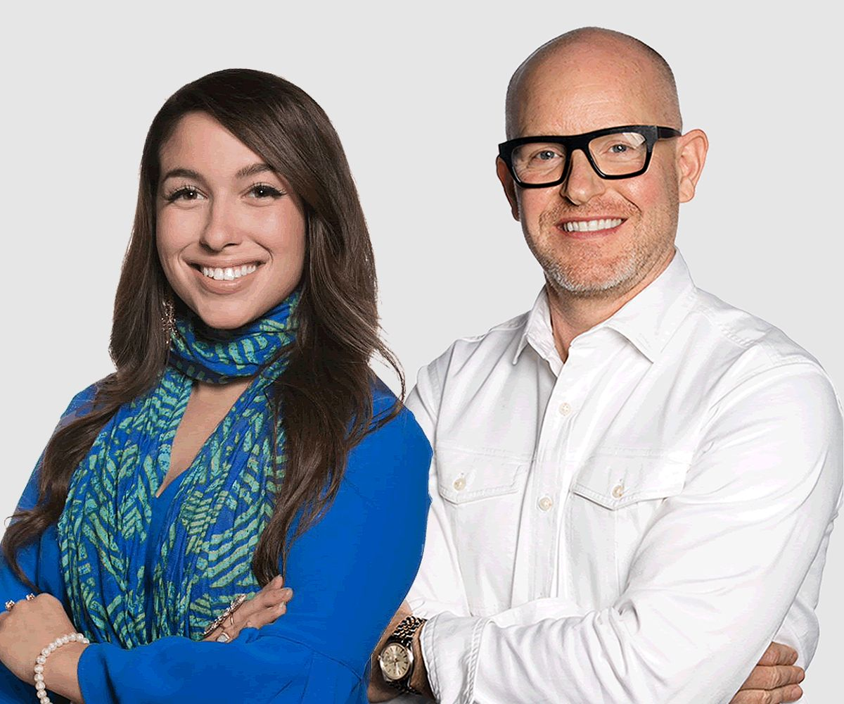 Stoneside Design Consultants Kelsea Fontes and James Brewer
