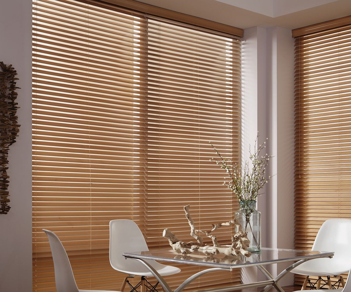 Genuine wood blinds from Stoneside