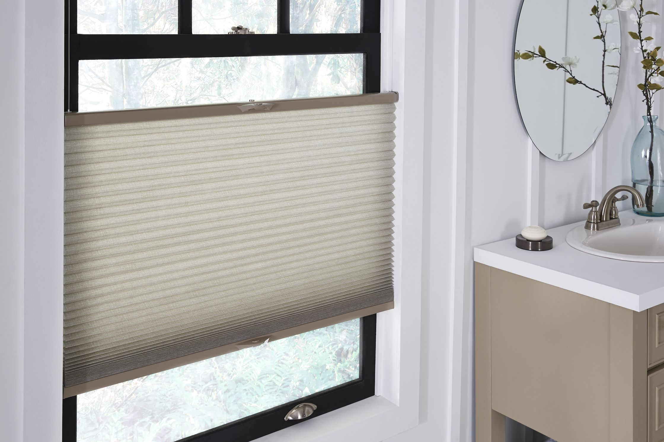Cellular shades offer excellent thermal insulation for cold - or hot - climates