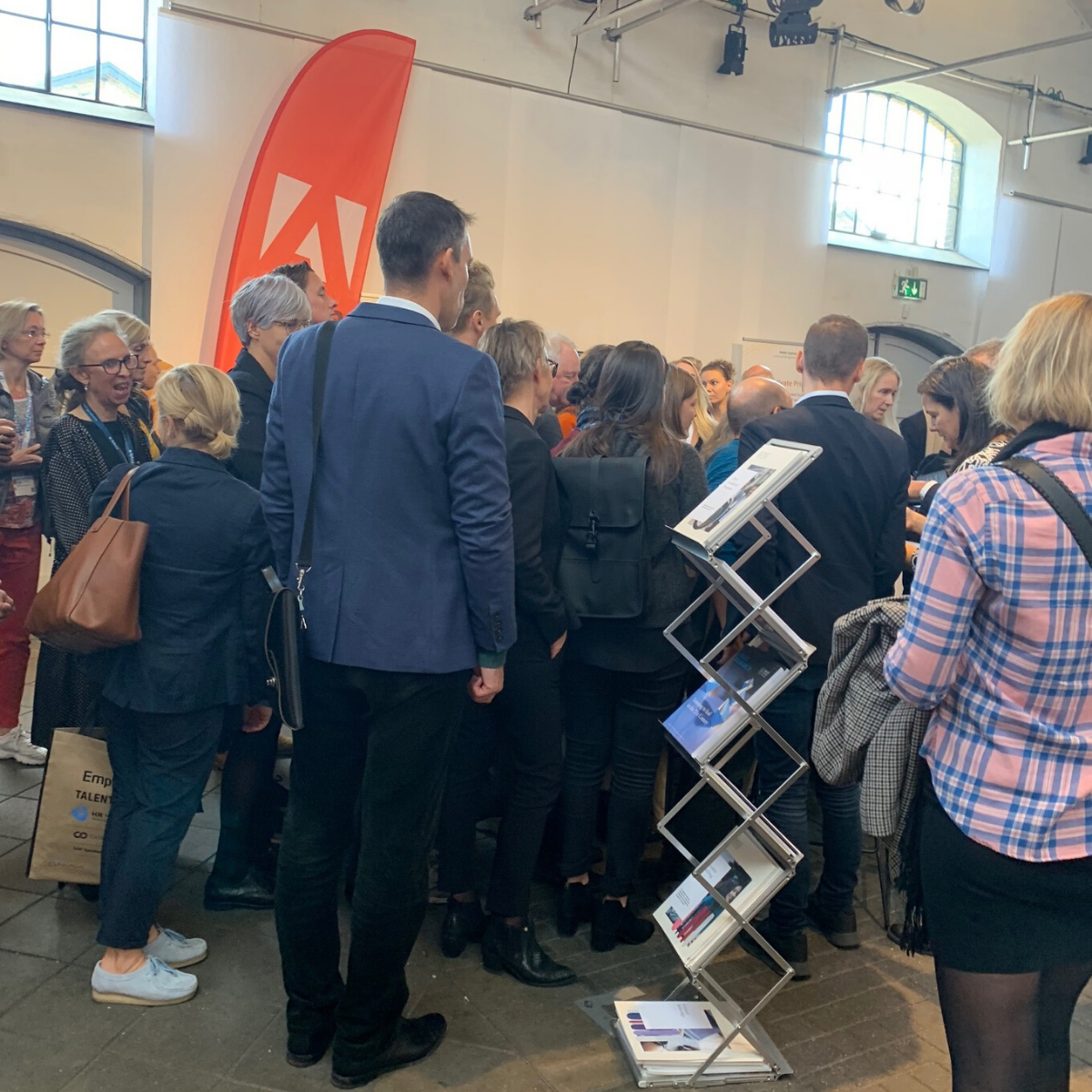 Queue for Paolo Gallo's book at Meeting Point HR in Copenhagen