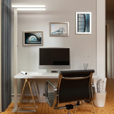 led office floor lamp dimmable